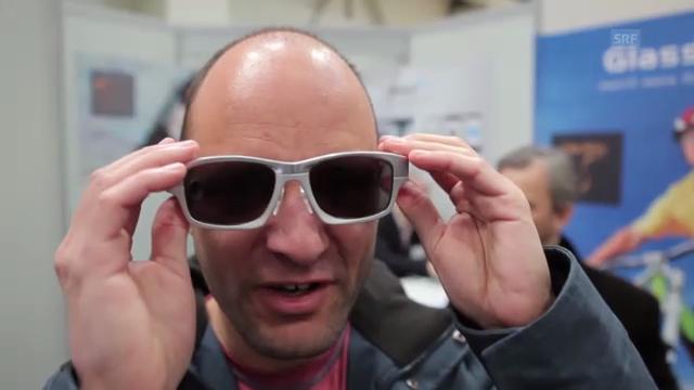 Eindrücke von Wearable Devices an der Cebit (SRF Digital)