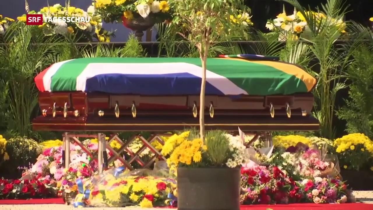 Staatsbegräbnis für Winnie Mandela