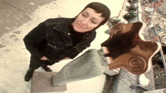 Besuch bei der Surrealistin Meret Oppenheim (26.9.1970)