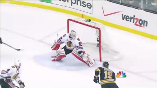 Video «Crawfords «Fehlgriffe» gegen Boston in Spiel 4» abspielen