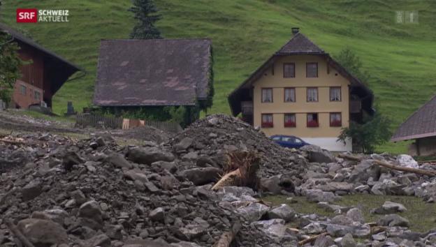 Video «Die Jahrhundertflut im Emmental» abspielen