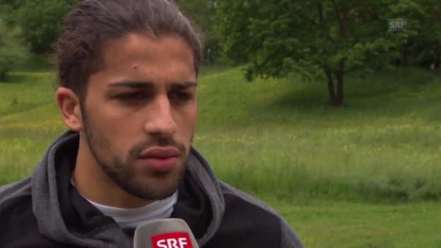 Video «Fussball: Interview mit Rodriguez» abspielen