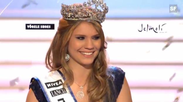 Video «Kerstin Cook ist Miss Schweiz 2010» abspielen