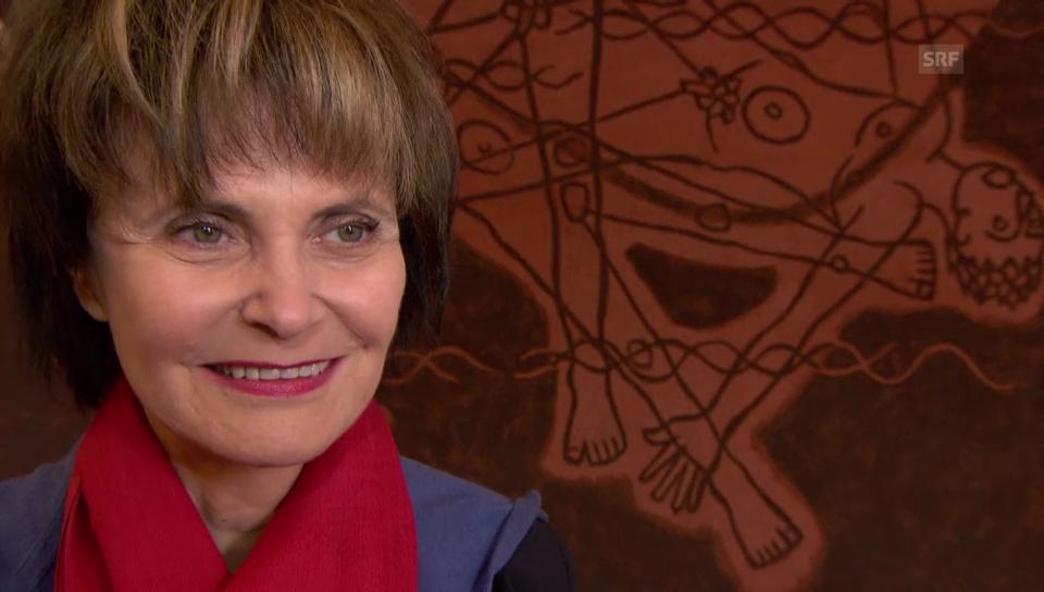 Micheline Calmy-Rey über ihre Arbeit als Professorin