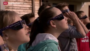 Video «Sonnenfinsternis gut sichtbar» abspielen