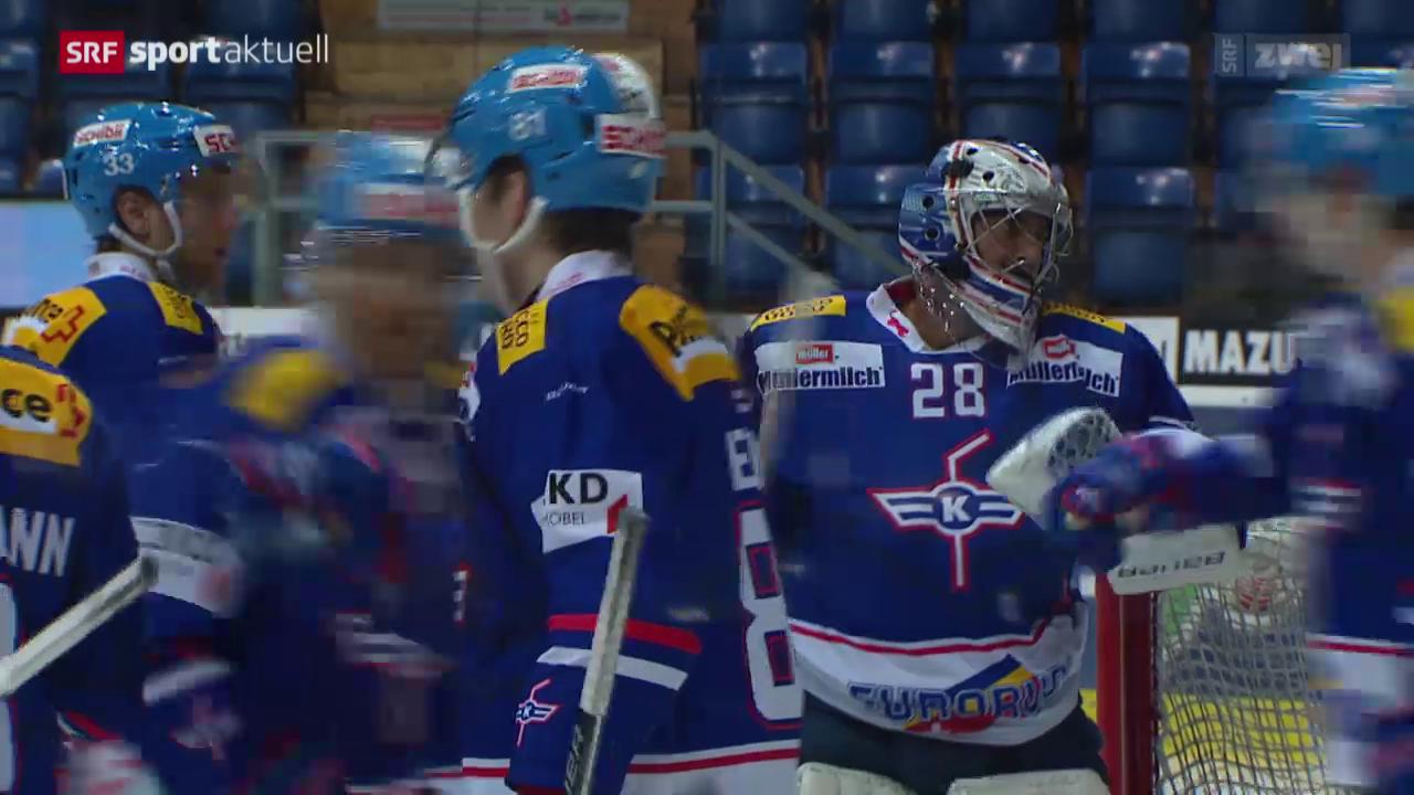 Eishockey: Kloten - Rapperswil-Jona Lakers
