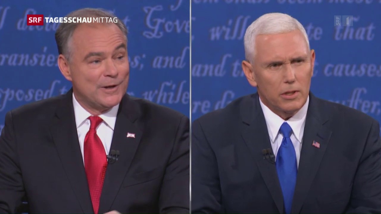 Das Duell der Vize-Kandidaten