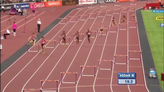 Video «400 m Hürden Frauen («sportlive»)» abspielen