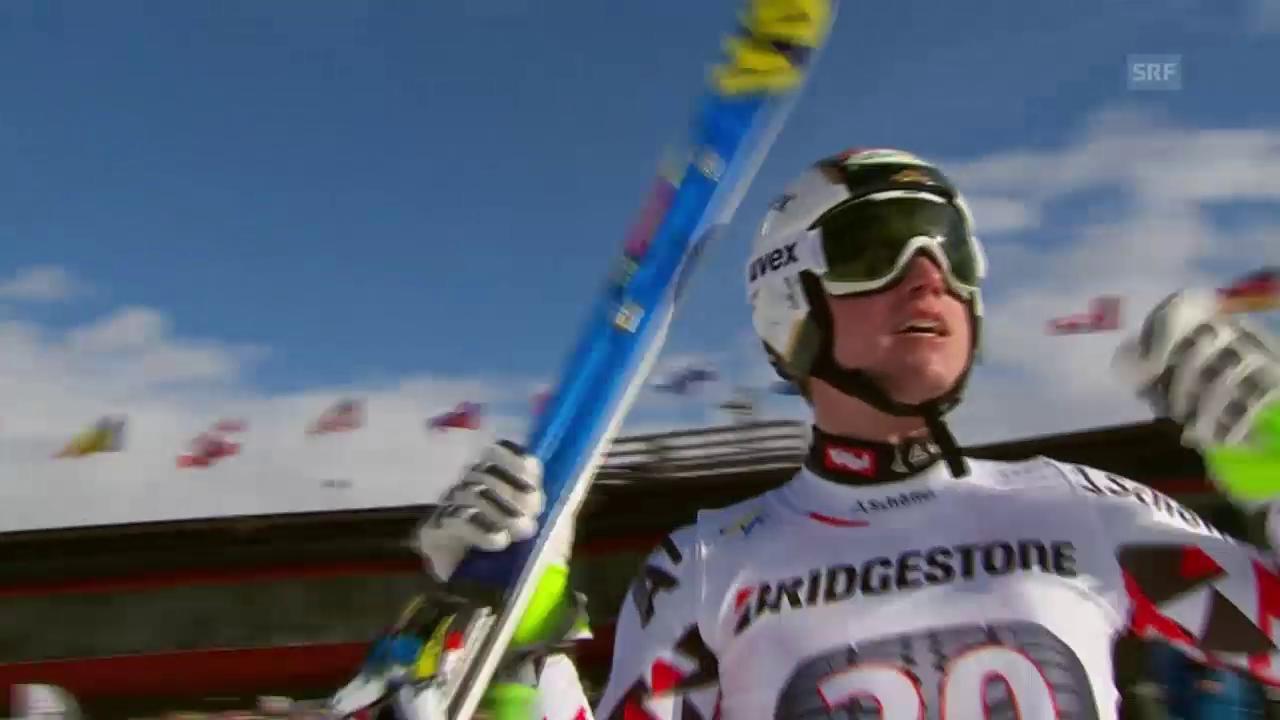 Ski alpin: Weltcup der Männer, Abfahrt in Kvitfjell, Hannes Reichelt