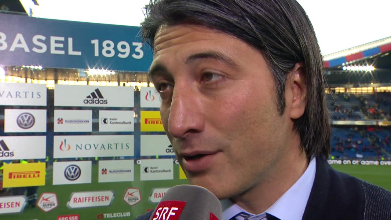 Fussball: Interview mit Murat Yakin («sportlive»)