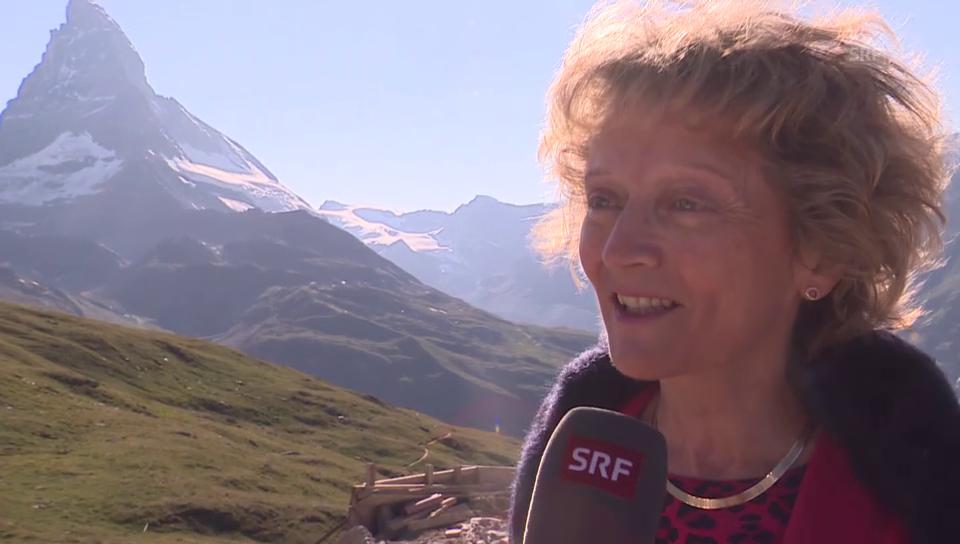 Eveline Widmer-Schlumpf über das Matterhorn