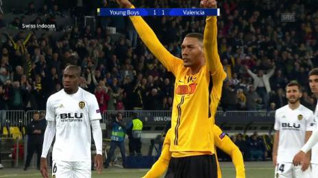 Link öffnet eine Lightbox. Video YB holt gegen Valencia den ersten CL-Punkt abspielen