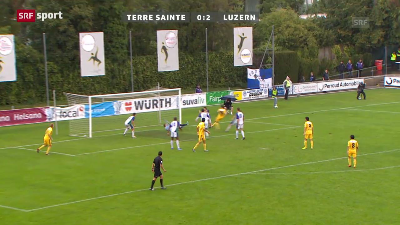 Cup: Terre Sainte - Luzern