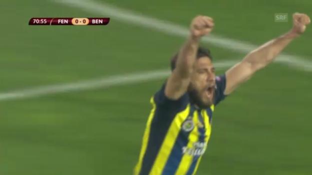 Video «Fussball: Europa League, Halbfinal-Hinspiel Fenerbahce-Benfica» abspielen