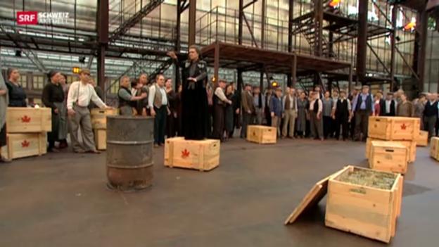 Video «Gartencenter wird zur Freilichtarena» abspielen