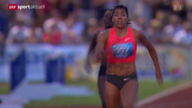 Video «Leichtathletik: Schweizer Meisterschaften, Frauen» abspielen