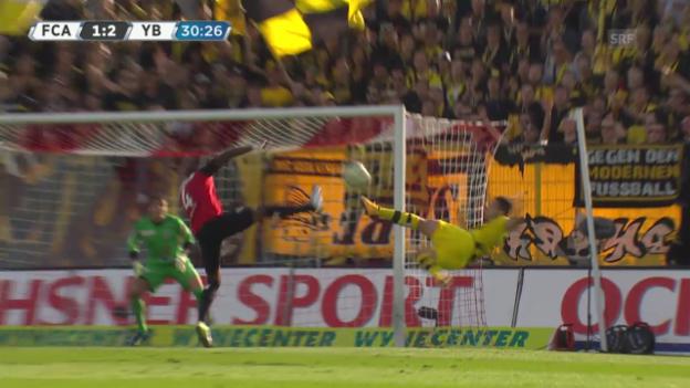 Video «Fussball: Super League, Traumtor von Renato Steffen» abspielen