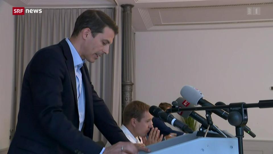 Thierry Burkart will das Präsidium der FDP Schweiz übernehmen