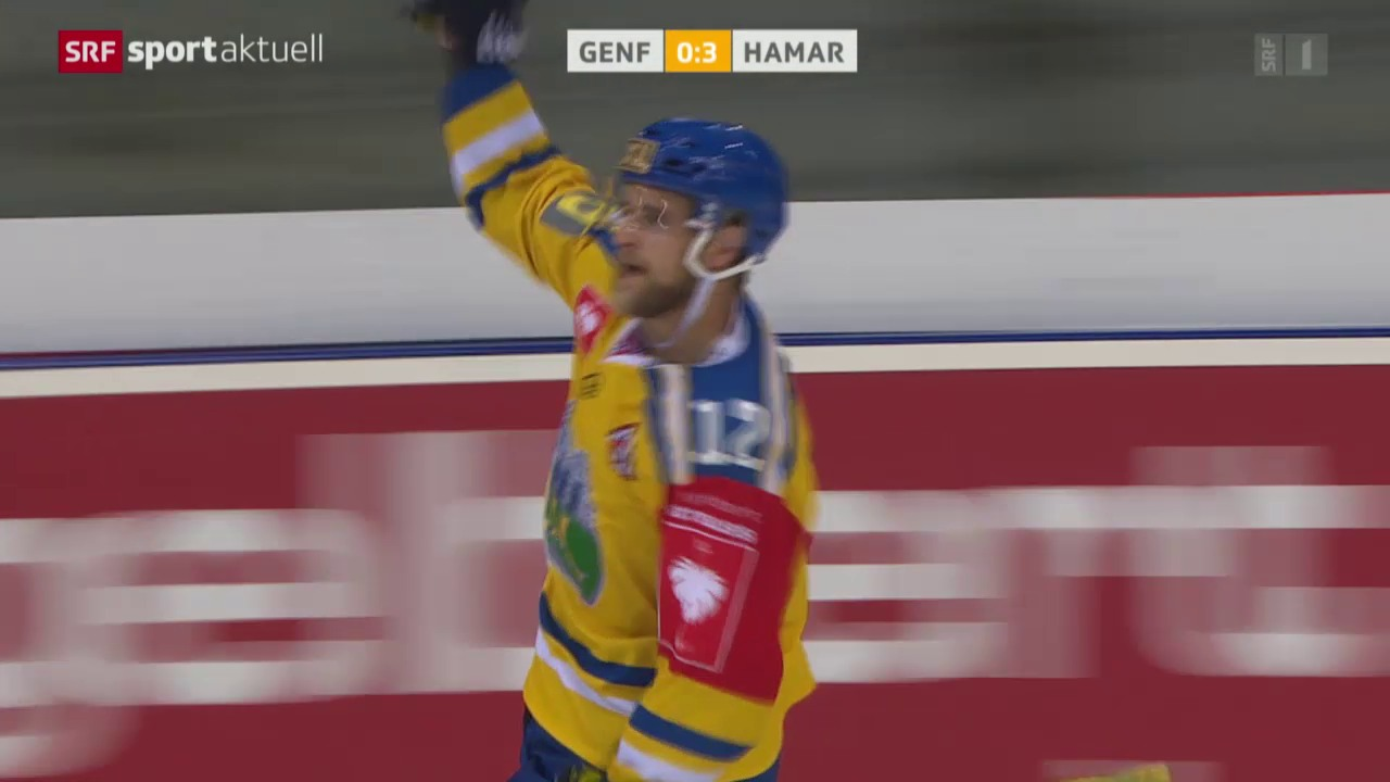 Eishockey: CHL, Genf-Storhamar