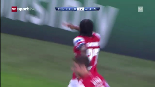 Highlights Montpellier - Arsenal