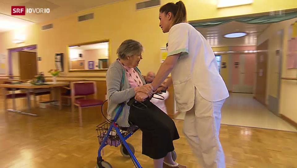 Fehlendes Schweizer Pflegepersonal