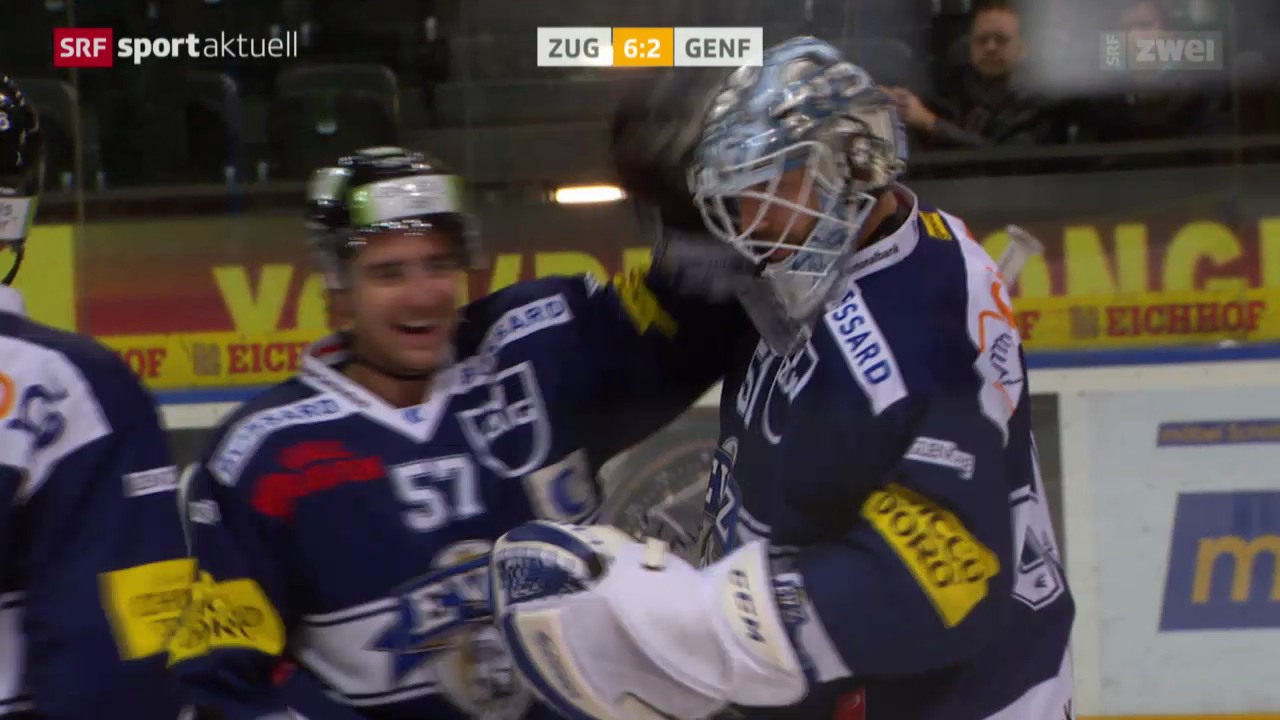 Eishockey: NLA, Zug - Genf