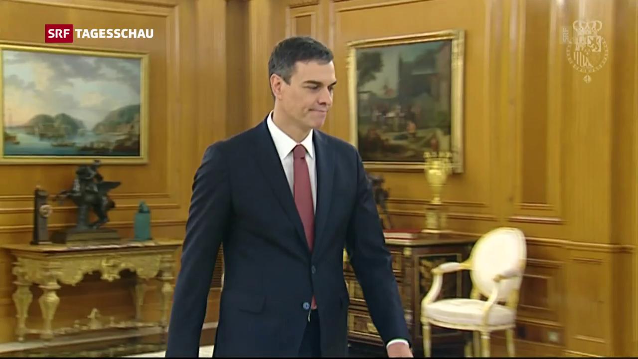 Spaniens neuer Ministerpräsident vereidigt