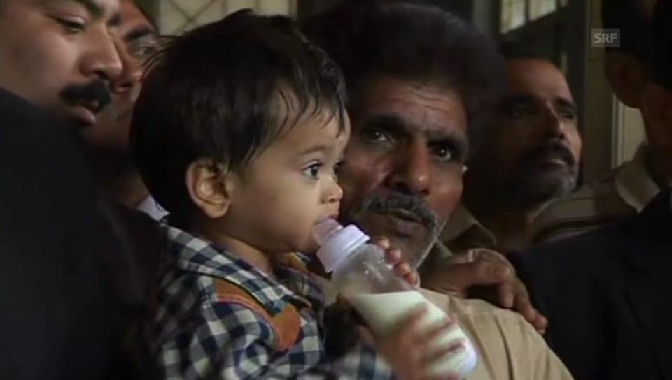 Anklage gegen Baby in Pakistan