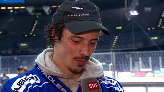 Video «Eishockey: Wick im Interview» abspielen