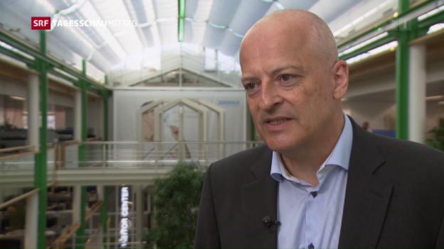 Video «Sonova-Chef Lukas Braunschweiler zum Jahresergebnis» abspielen