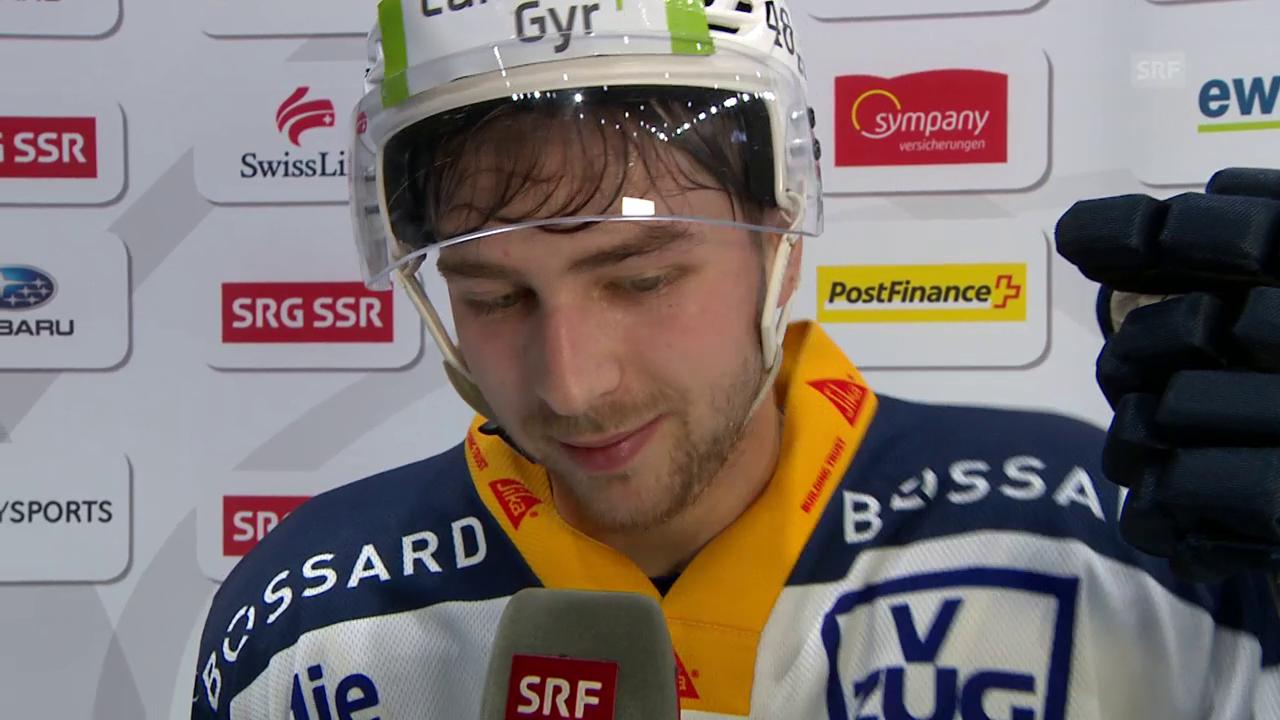 Martschini: «Spielten lange nicht unser Hockey»