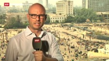 Video «Live-Schaltung zu SRF-Korrespondent Pascal Weber» abspielen