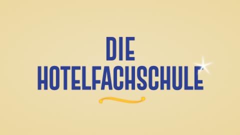 Die Hotelfachschule mit Audiodeskription