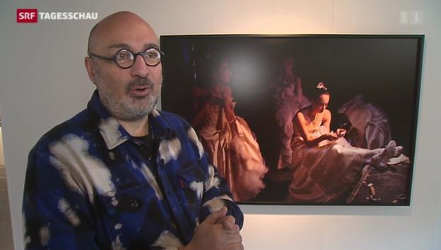 Video «Der Schweizer Star-Fotograf Henry Leutwyler in Zürich» abspielen