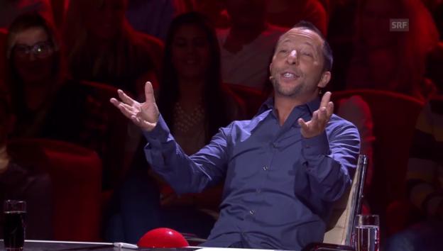 Video «Schwieriges Werben um DJ Bobos Gunst» abspielen