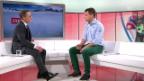 Video «Ski: Patrick Küng über die Anfänge im Weltcup («sportpanorama», 15.12.2013)» abspielen