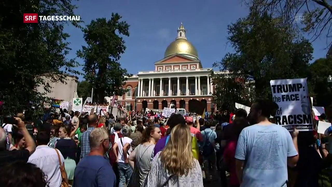 Tausende demonstrieren in Boston gegen Rassismus