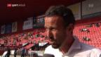Video «FCB-Sportchef Streller zur Wicky-Entlassung» abspielen
