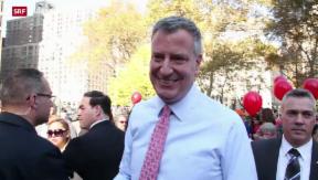 Video «Politische Wende in New York» abspielen
