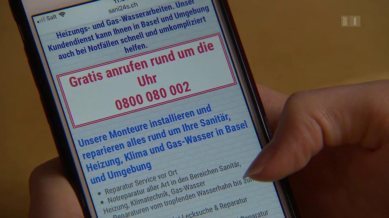 Dubiose Sanitär-Hotlines: Nach Anruf droht Abzocke