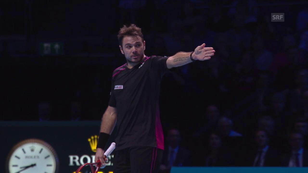 Tennis: ATP Finals, Wawrinka-Ferrer