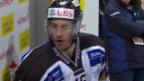 Video «Eishockey: Kienzles unschöne Worte an DiDomenico» abspielen