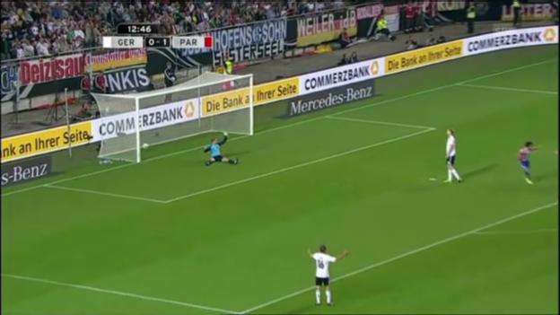 Video «Tore bei Deutschland-Paraguay» abspielen