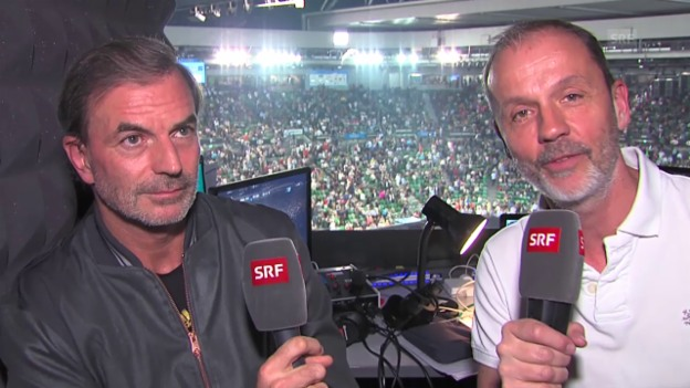 Video «Bürer/Günthardt über das Männer-Tableau bei den Australian Open» abspielen