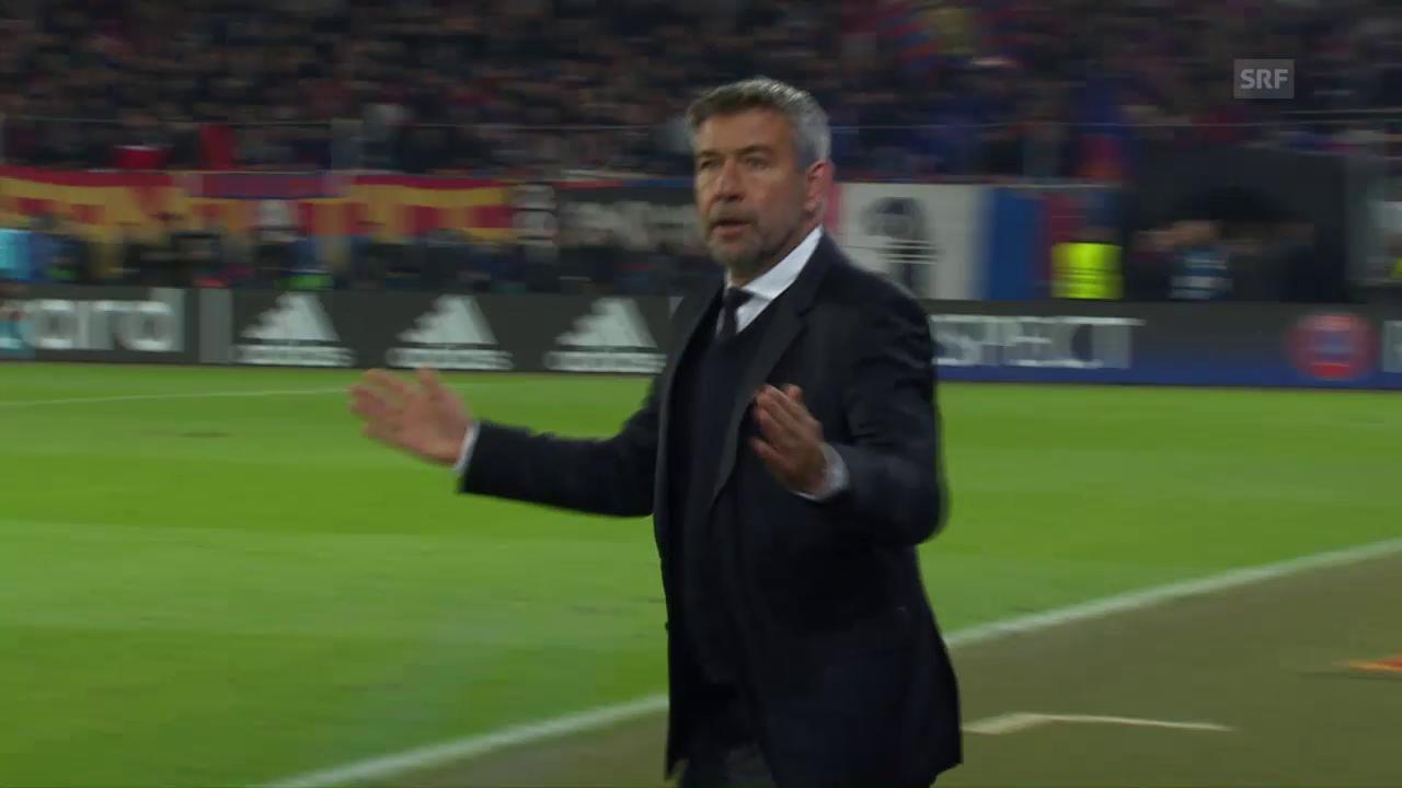 Basel verliert zuhause gegen Paris Saint-Germain