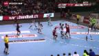 Video «Handball: Schweiz verliert gegen Frankreich» abspielen
