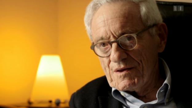 Video «Arno Gruen: «Wir sehen durch abstrakte Ideen»» abspielen