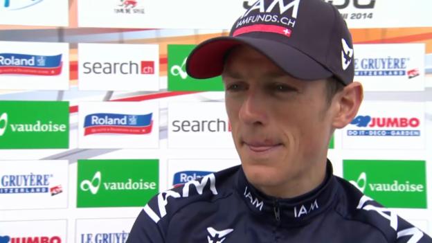 Video «Gesamtzweiter: Mathias Frank im Interview» abspielen