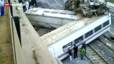 Video «An der Unglücksstelle bietet sich ein Bild des Schreckens» abspielen