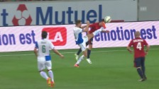 Video «Fussball: Lille - GC: Die Live-Highlights» abspielen